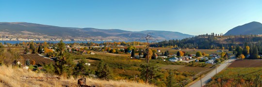 Autumn Over Trout Creek Community