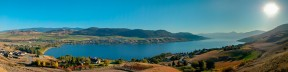 The Rise To Okanagan Lake 3323