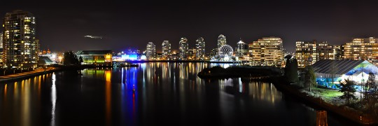 False Creek - 2010 Athletes Village at Night