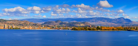Autumn Across The Lake (Kelowna) 5324-1236a