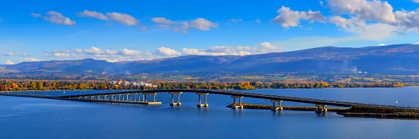 Autumn Across The Lake (Kelowna) 5324-1236b